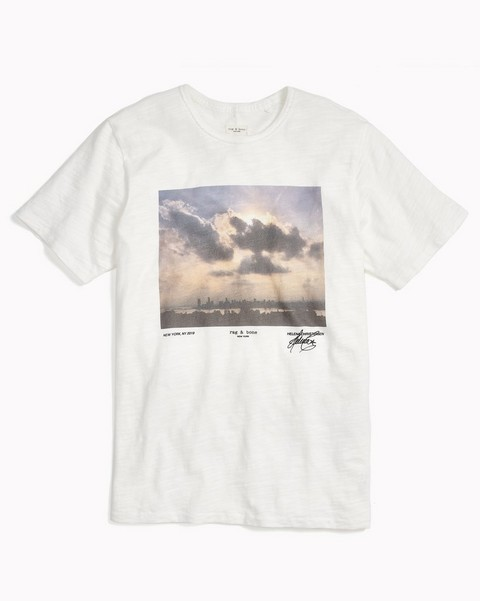RAG & BONE LIMITED EDITION TEE BY HELENA CHRISTENSEN
