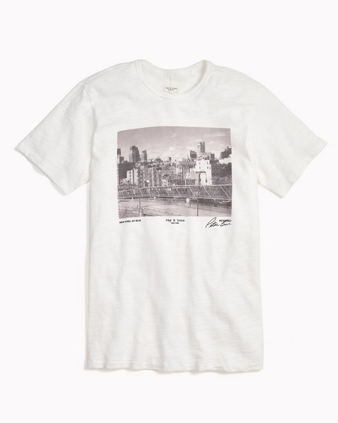 RAG & BONE LIMITED EDITION TEE BY PETER BICI