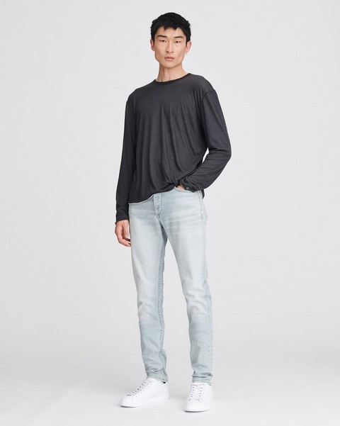 RAG & BONE REVERSE LONG SLEEVE TEE