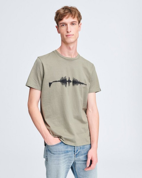 RAG & BONE SOUND WAVE TEE