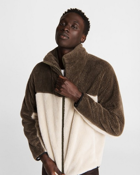 RAG & BONE Buxton Sherpa Funnel Neck