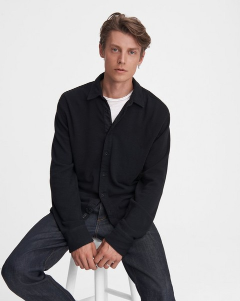 RAG & BONE Baron Knit Button-Down