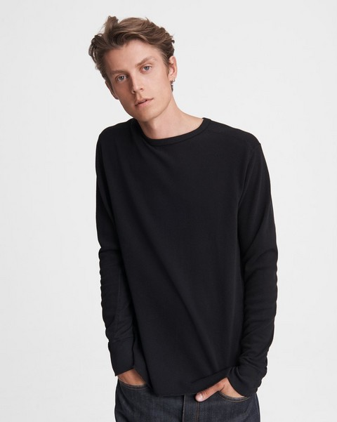 RAG & BONE Baron Knit Cotton Crew