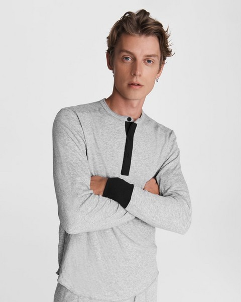 RAG & BONE Gibson Cotton Henley