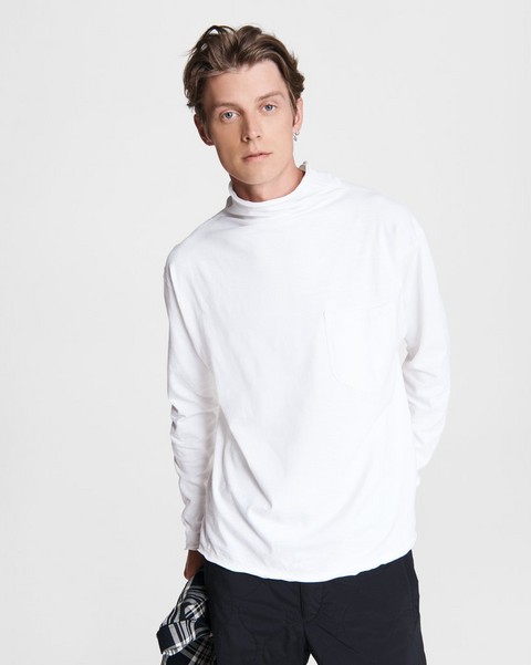 RAG & BONE Kirby Cotton Funnel Neck