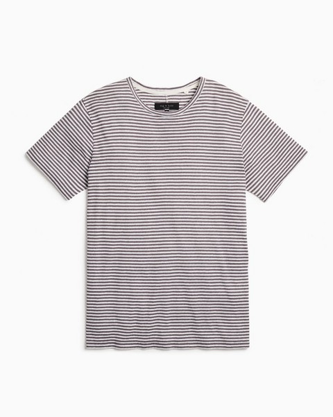 RAG & BONE Classic Air Tee - Stripe