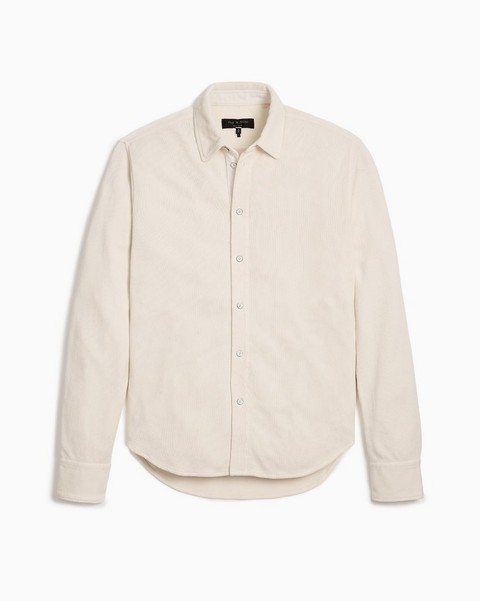 RAG & BONE Baron Cotton Henley