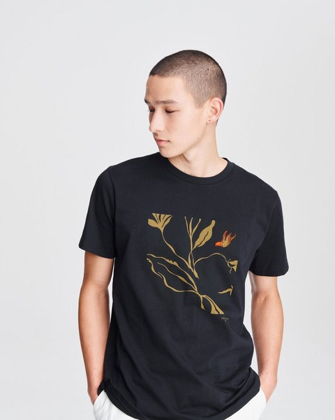RAG & BONE INDIGO BOX TEE