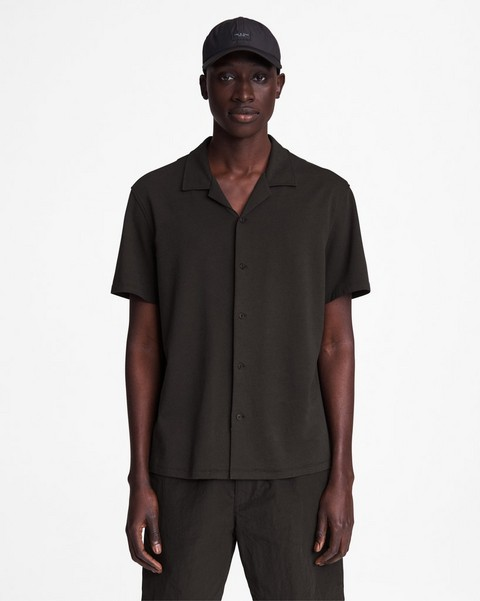 RAG & BONE Avery Knit Cotton Shirt