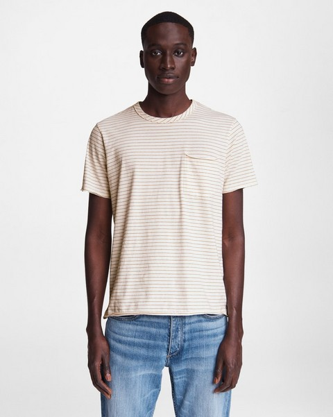 RAG & BONE Miles Cotton Tee