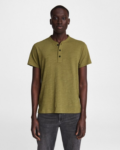RAG & BONE Flame Cotton Henley