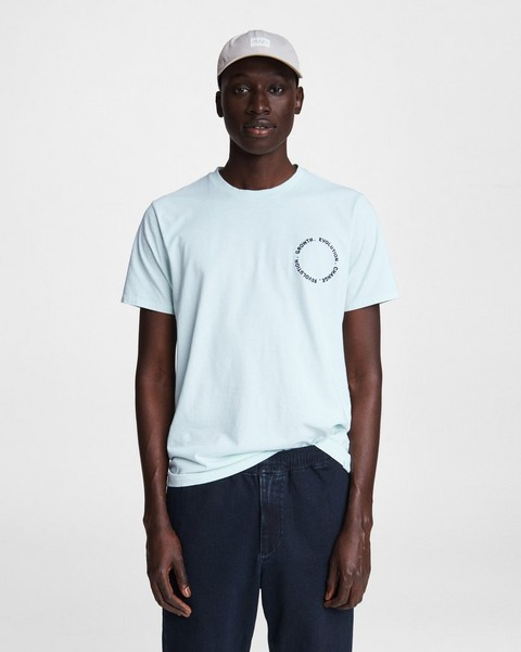 RAG & BONE Embroidered Evolution Cotton Tee