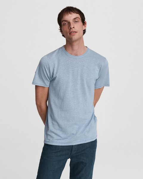 RAG & BONE Linen Cotton Jersey Tee