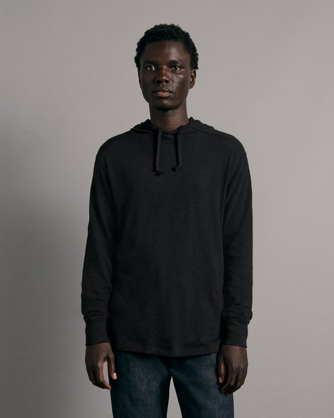 RAG & BONE Flame Carded Cotton Hoodie