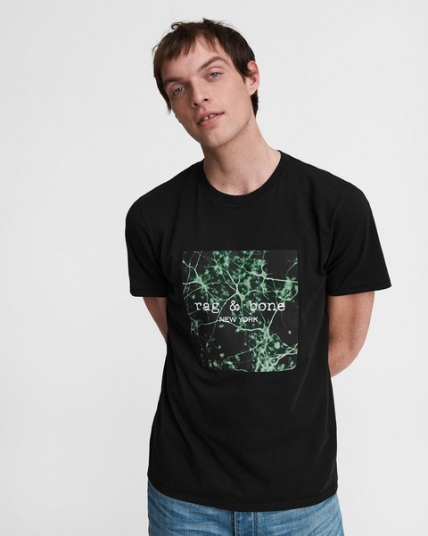 RAG & BONE Mycelium Box Cotton Tee