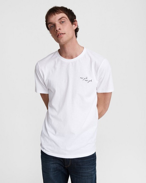 RAG & BONE New York, New York Cotton Tee