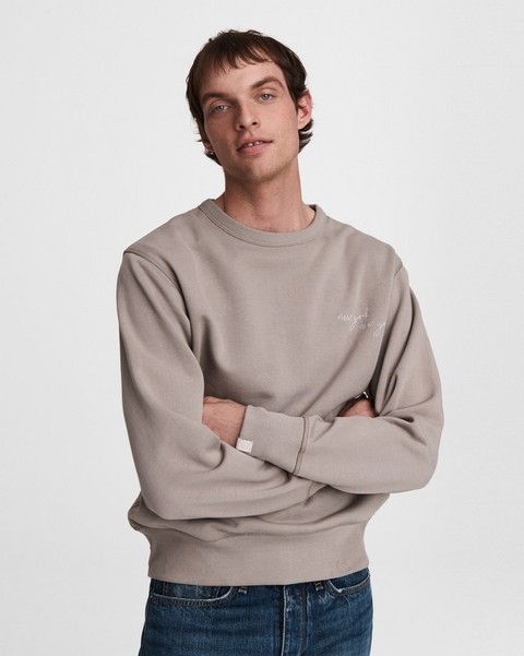 RAG & BONE New York, New York Cotton Sweatshirt