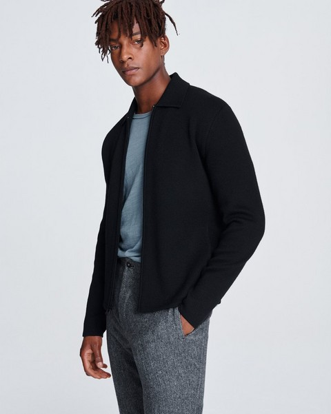 RAG & BONE MELROSE ZIP THROUGH