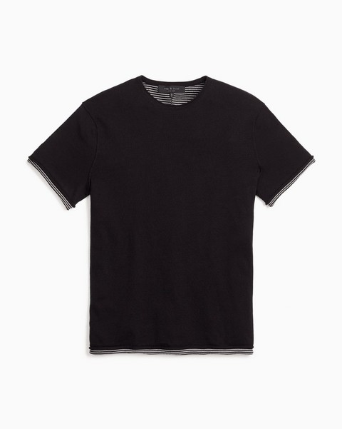RAG & BONE PALMER SHORT SLEEVE CREW