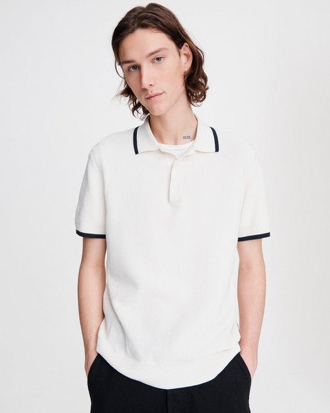 RAG & BONE Edmond Cotton Polo