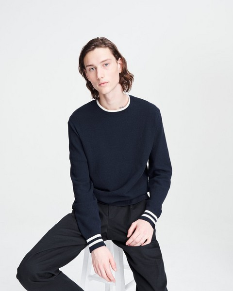 RAG & BONE Edmond Cotton Crew