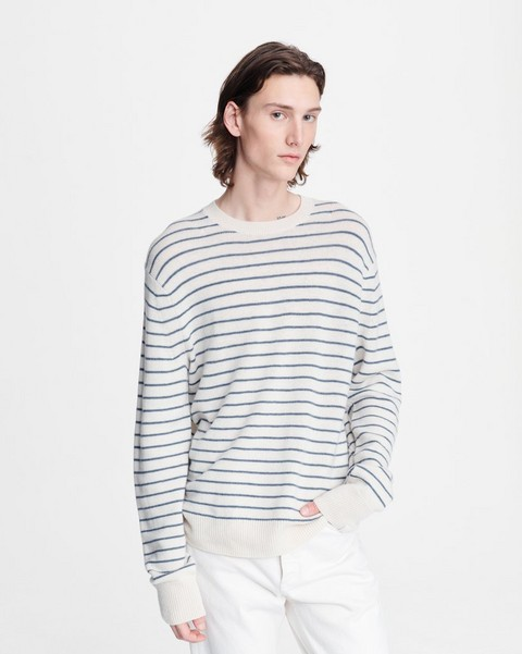 RAG & BONE HARLOW STRIPED CREW