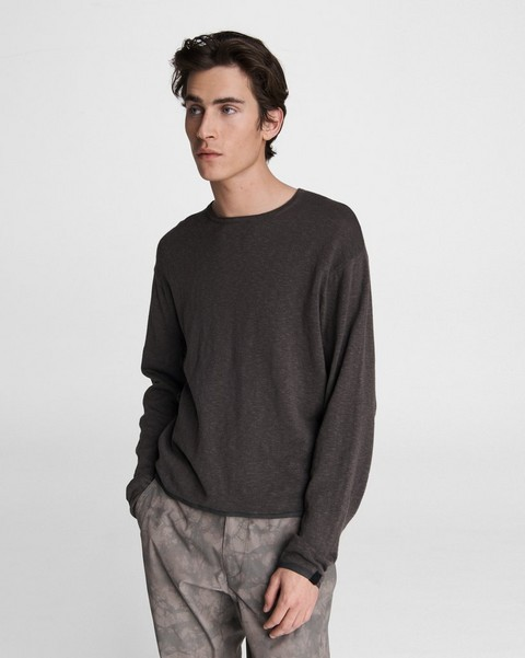 RAG & BONE Ellis Cotton Linen Crew