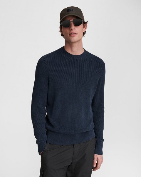 RAG & BONE Dexter Cotton Crew