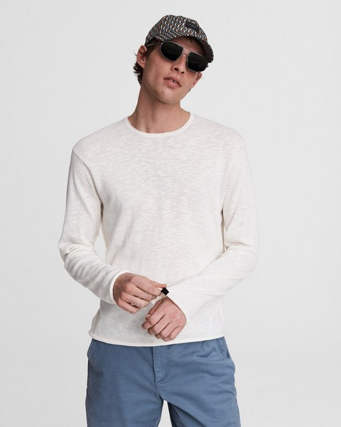 RAG & BONE Taylor Cotton Linen Crew