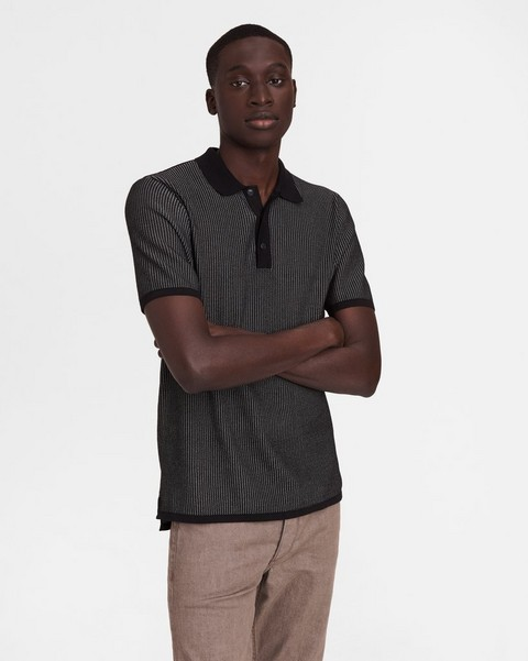 RAG & BONE Harvey Cotton Polo