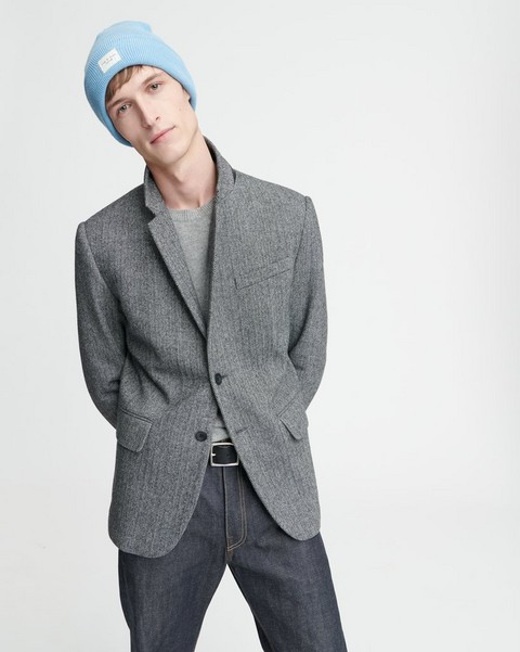RAG & BONE DECONSTRUCTED RAZOR JACKET