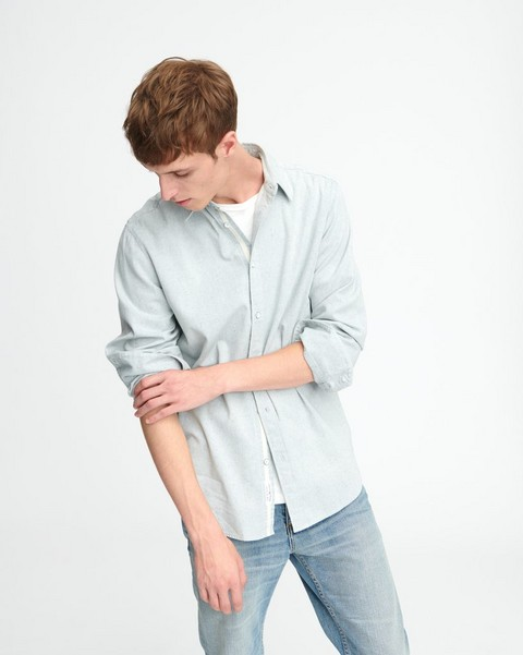 RAG & BONE Fit 3 Denim Shirt - Light Indigo