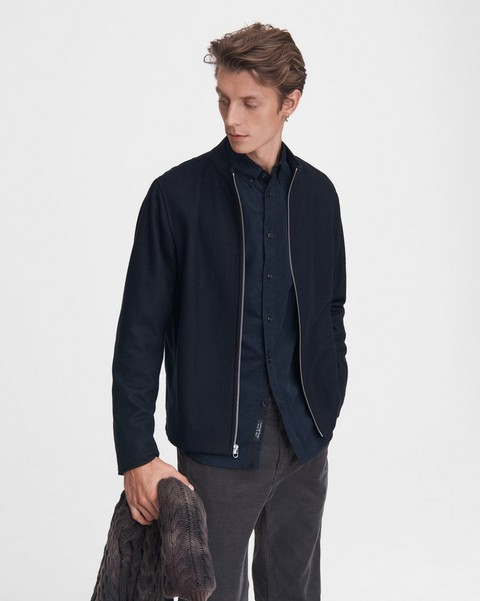 RAG & BONE Agnes Wool Jersey Jacket