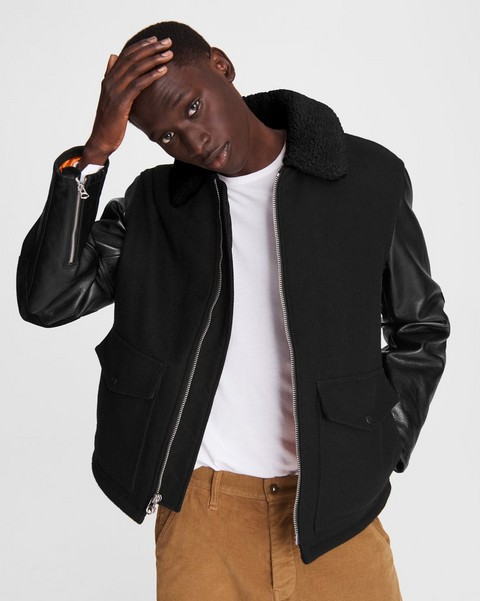 RAG & BONE Schott Deck Wool Jacket