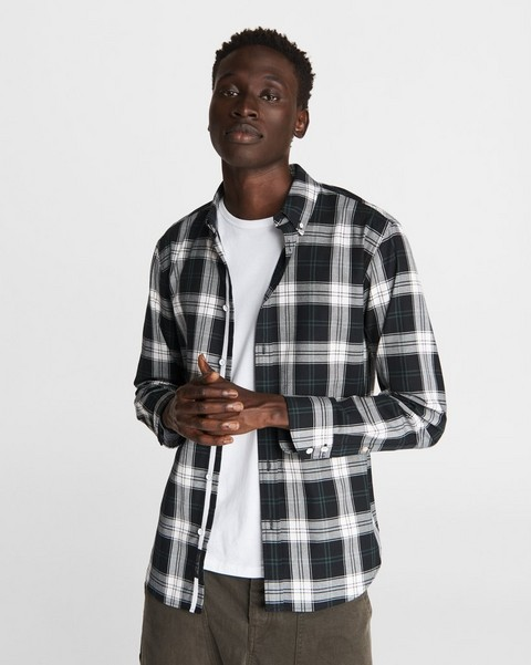 RAG & BONE Fit 2 Tomlin Shirt - Plaid Cotton