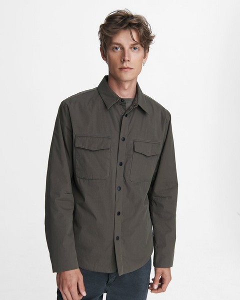 RAG & BONE M42 Cotton Blend Jack Shirt Jacket