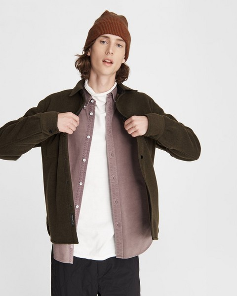 RAG & BONE Fleece Shirt Jacket