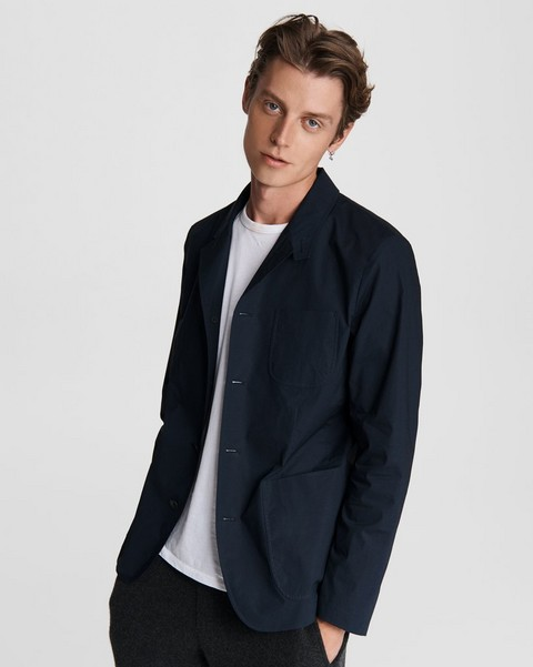 RAG & BONE Parker Japanese Cotton Blazer