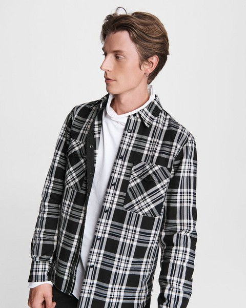 RAG & BONE Jack Cotton Shirt Jacket