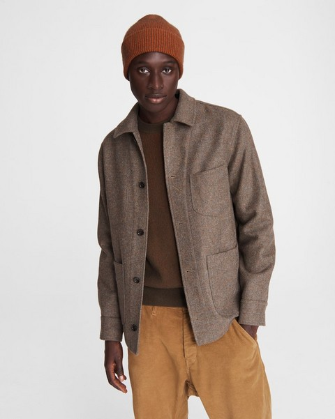 RAG & BONE Mace Wool Shirt Jacket