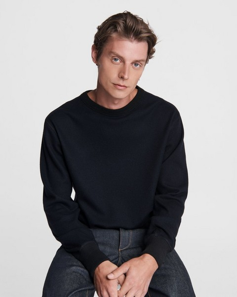 RAG & BONE Damon Wool Crewneck