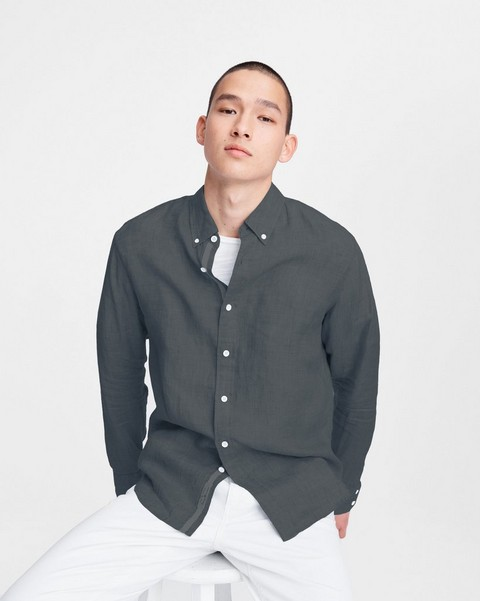 RAG & BONE Fit 2 Tomlin Shirt - Linen