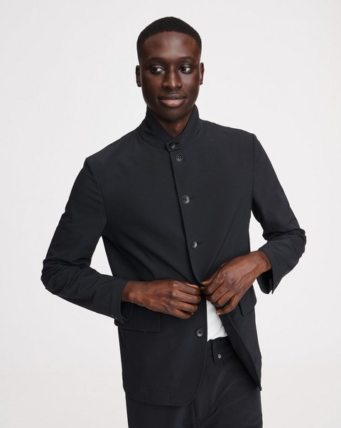 RAG & BONE Deconstructed Razor Nylon Blazer
