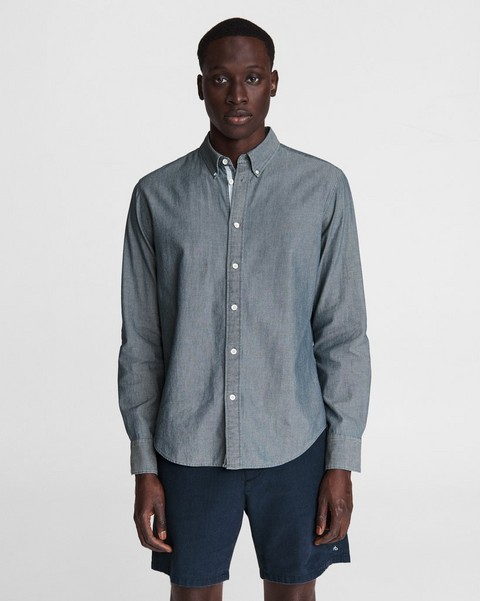 RAG & BONE Fit 2 Tomlin - Indigo Cotton Dobby