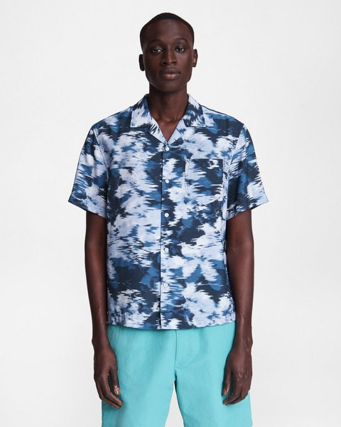 RAG & BONE Avery Cotton Lawn Shirt