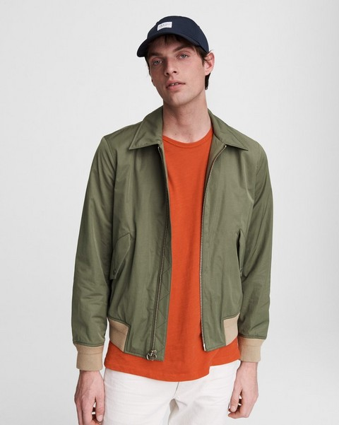 RAG & BONE Harrier Cotton Blend Bomber