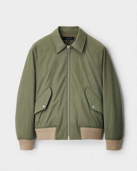 null Harrier Cotton Blend Bomber