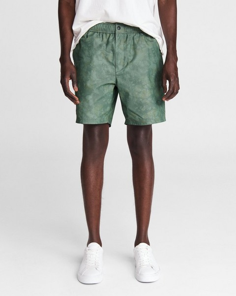 RAG & BONE Eaton Pull On Cotton Short