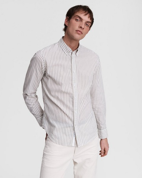 RAG & BONE Fit 2 Tomlin - Cotton Linen Blend