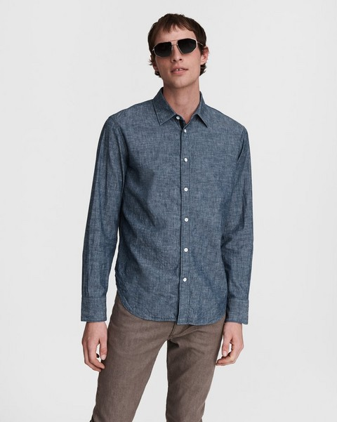 RAG & BONE Fit 3 - Japanese Chambray